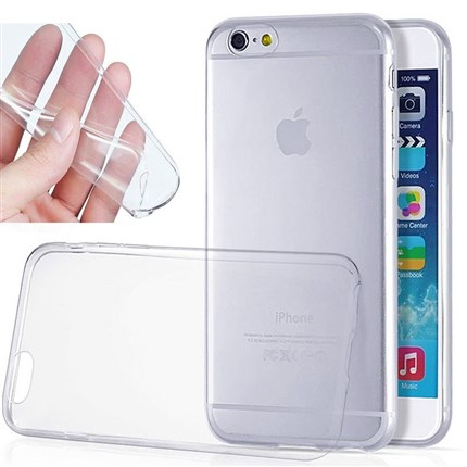 Funda iPhone 6/6S Ultra Fina/Thin Transparente fabricada en Gel TPU