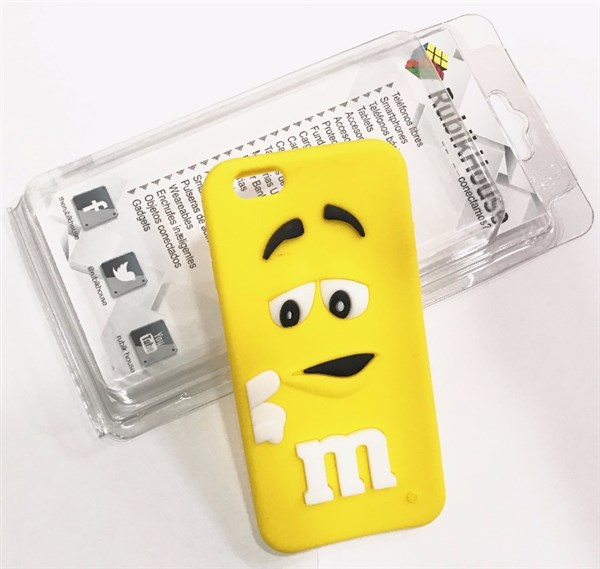 Funda M&M iPhone 6/6S Amarillo (Amarillo - iPhone 6S/6)
