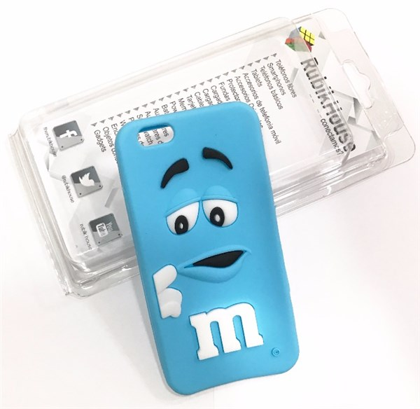 Funda M&M iPhone 6/6S Azul (Azul - iPhone 6S/6)