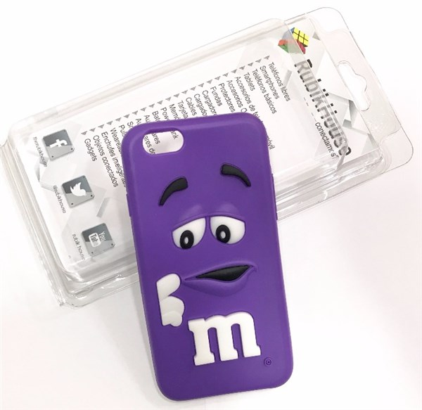Funda M&M iPhone 6/6S Morado (Morado - iPhone 6S/6)