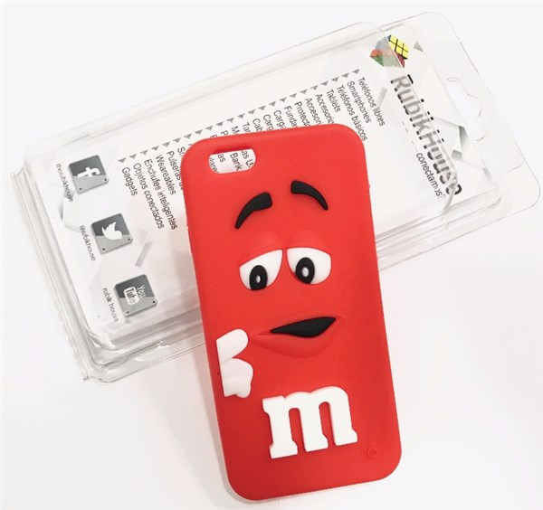 Funda M&M iPhone 6/6S Rojo (Rojo - iPhone 6S/6)