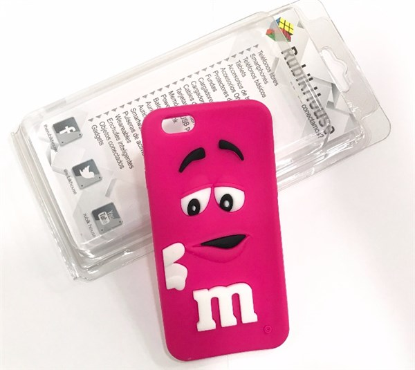 Funda M&M iPhone 6/6S Rosa (Rosa - iPhone 6S/6)