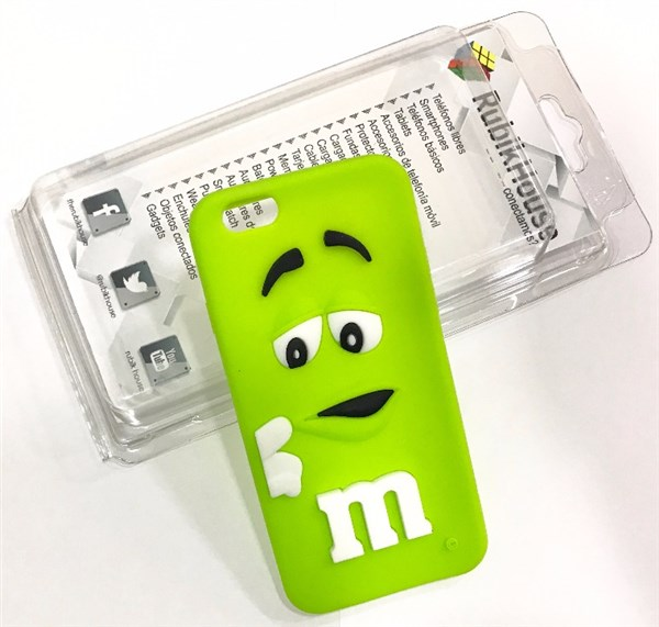 Funda M&M iPhone 6/6S Verde (Verde - iPhone 6S/6)
