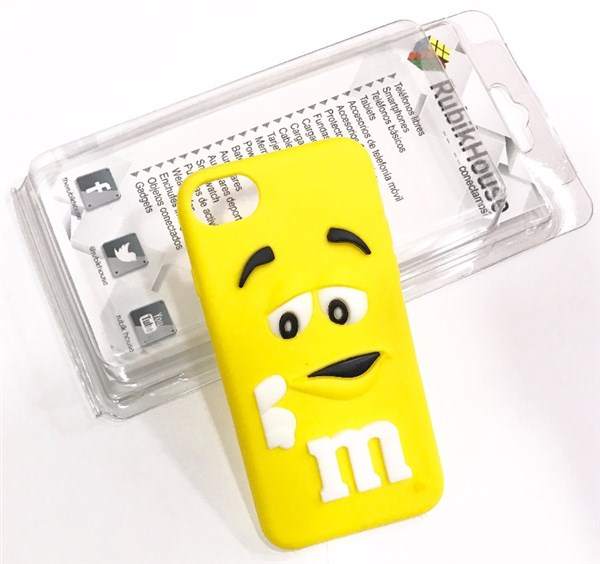 Funda M&M iPhone 7 Amarillo (Amarillo - iPhone 7)
