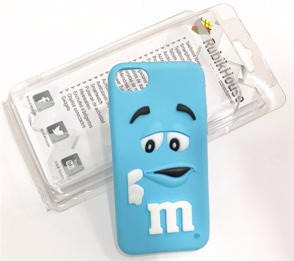 Funda M&M iPhone 7 Azul (Azul - iPhone 7)