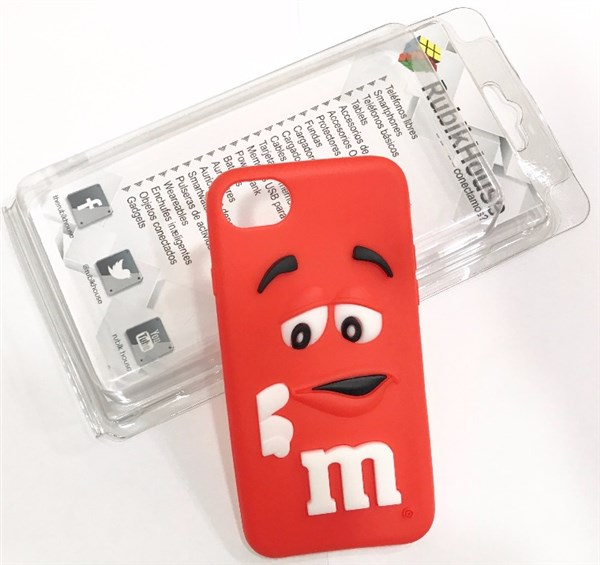 Funda M&M iPhone 7 Rojo (Rojo - iPhone 7)
