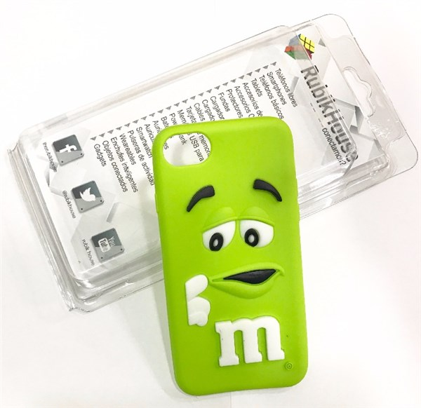 Funda M&M iPhone 7 Verde (Verde - iPhone 7)