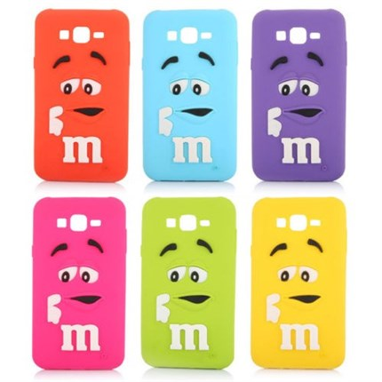 Funda M&M para Samsung Galaxy S7 Edge, S7, J1 2016, J3, J5 2016 y J7 2016